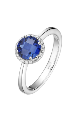 Lafonn Birthstone Halo Ring September Sapphire BR001SAP product image