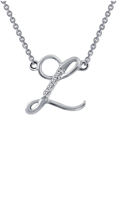 Lafonn Initials Necklace 9N073CLP product image