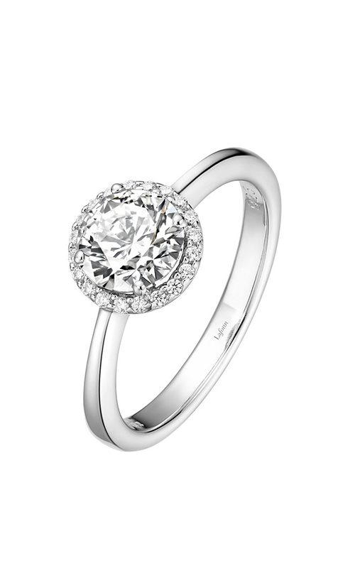 Lafonn Birthstone Halo Ring April Diamond BR001DAP product image