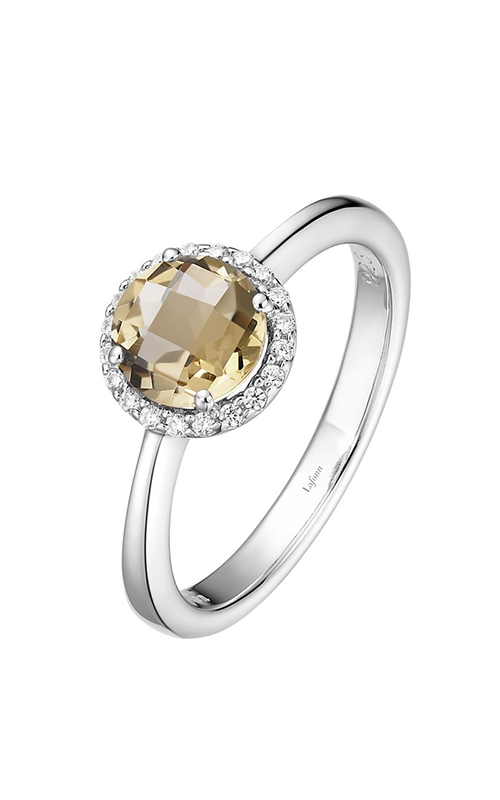 Lafonn Birthstone Halo Ring November Citrine BR001CTP product image