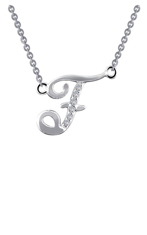 Lafonn Initials Necklace 9N055CLP product image