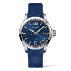 Longines Conquest  V.H.P. GMT Watch L3.718.4.96.9 product image