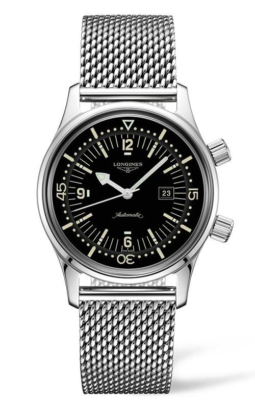 Longines Legend Diver Watch L3.374.4.50.6 product image
