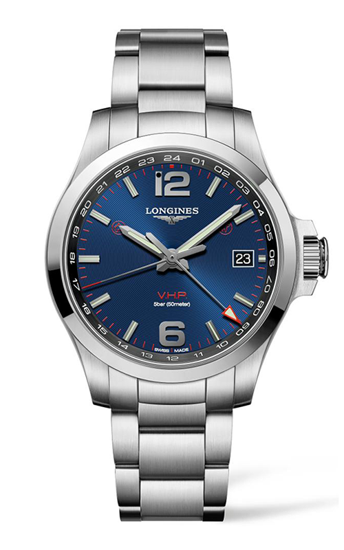 Longines Conquest  V.H.P. GMT Watch L3.718.4.96.6 product image