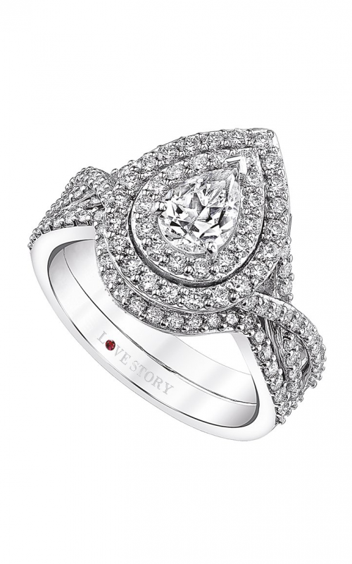 Love Story Diamonds Love Story Collection Engagement ring 526-13823 product image