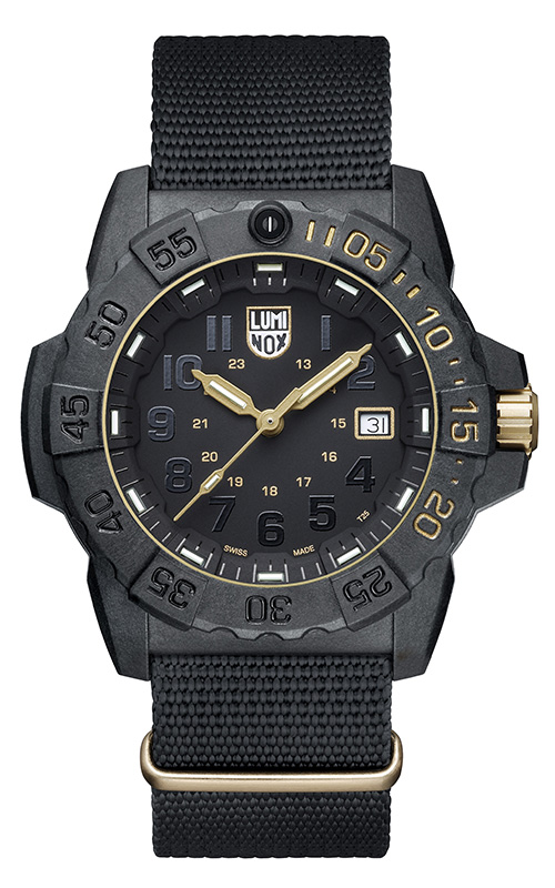 Luminox 3500 Trident Series Watch XS.3501.GOLD.SET product image