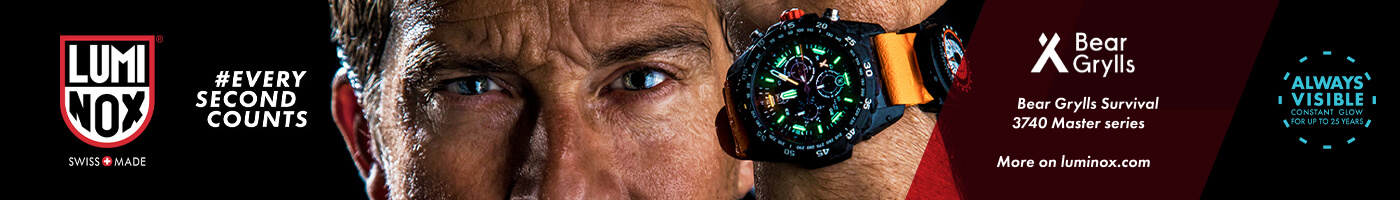Luminox Deep Dive - Scott Cassell