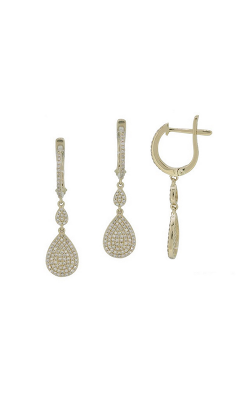 Luvente Earrings Earrings E1037-RD product image