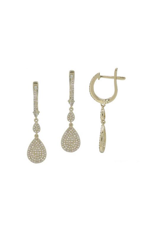 Luvente Earrings Earrings E1037-RD product image