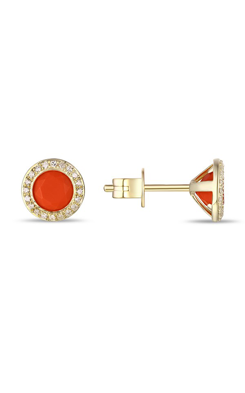Luvente Earrings Earrings E01482-CORAL.Y product image