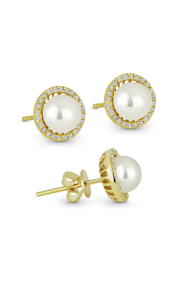 Madison L Pearl Essential Earrings E1266PEY product image