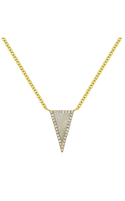 Madison L Stiletto Necklace N1170MOPY product image
