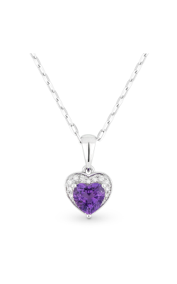 Madison L Hearts Necklace N1043AMW product image