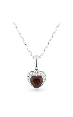 Madison L Hearts Necklace N1043GAW product image