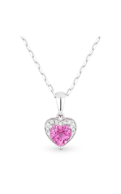 Madison L Hearts Necklace N1043PCW product image