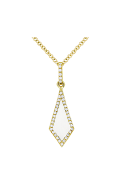 Madison L Stiletto Necklace N1105MOPY product image