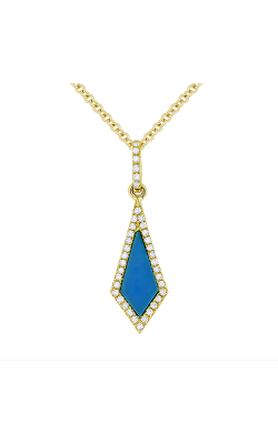 Madison L Stiletto Necklace N1105TQY product image
