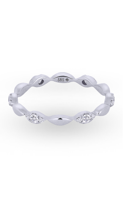 Madison L Stackable Fashion ring R1003W product image