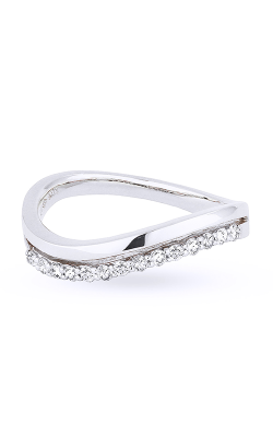 Madison L Stackable Fashion ring R1017W product image