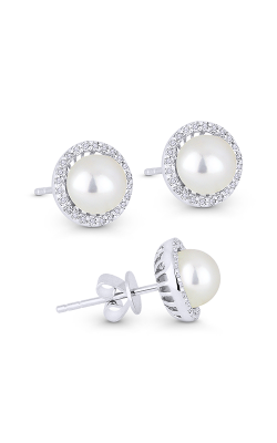 Madison L Pearl Essential Earring E1266PEW product image