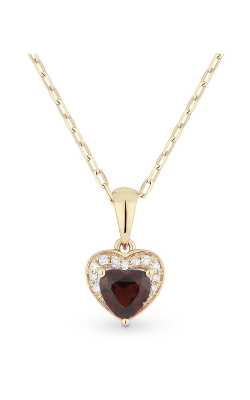 Madison L Hearts Necklace N1043GAY product image