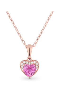 Madison L Hearts Necklace N1043PCP product image