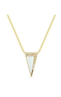 Madison L Stiletto Necklace N1280MOPY product image
