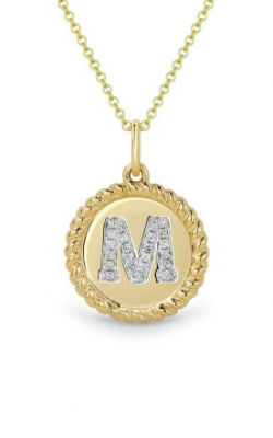 Madison L Initials Necklace N1004MY product image