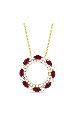 Madison L Necklaces N1487RUY product image