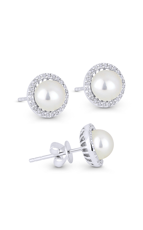 Madison L Pearl Essential Earrings E1266PEW product image