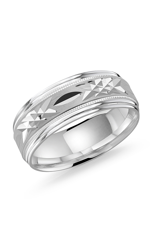 Malo Bands Carved Bands Wedding band M3-007-8W product image