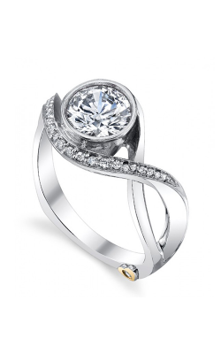 Mark Schneider Contemporary Engagement Ring Aurora 17150 product image