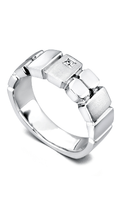 Mark Schneider Men's Wedding Bands Wedding Band Ardent 15159 product image