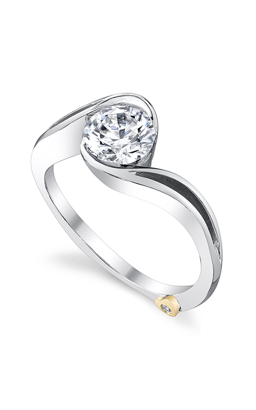 Mark Schneider Contemporary Engagement ring Aerial 17250 product image