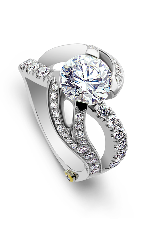 Mark Schneider Contemporary Engagement ring Breathtaking 19865 product image