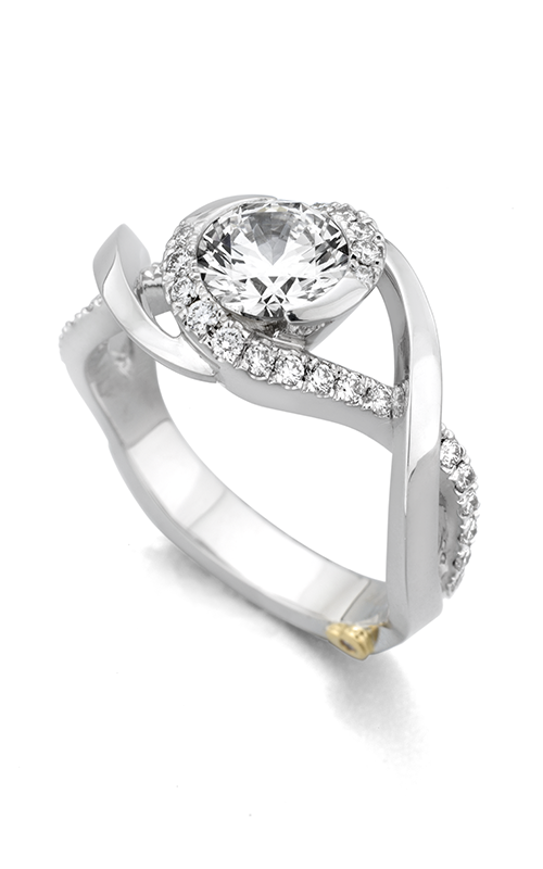 Mark Schneider Contemporary Engagement ring Scintillate 19840 product image