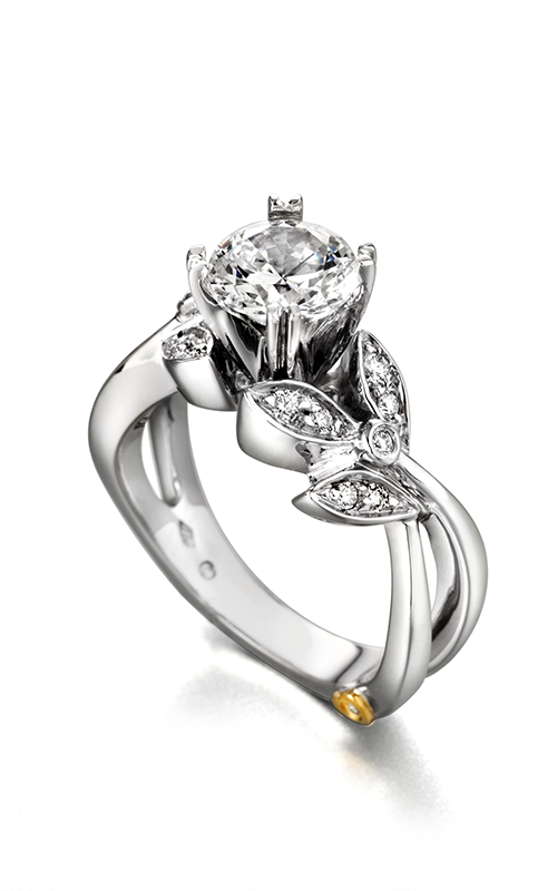 Mark Schneider Floral Engagement ring Mystic 19010 product image