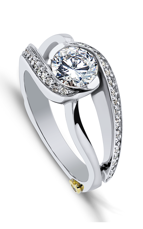 Mark Schneider Contemporary Engagement ring Cascade 19040 product image