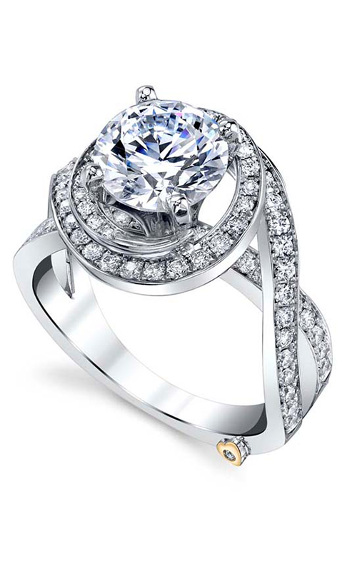 Mark Schneider Contemporary Engagement ring Pulse 17570 product image