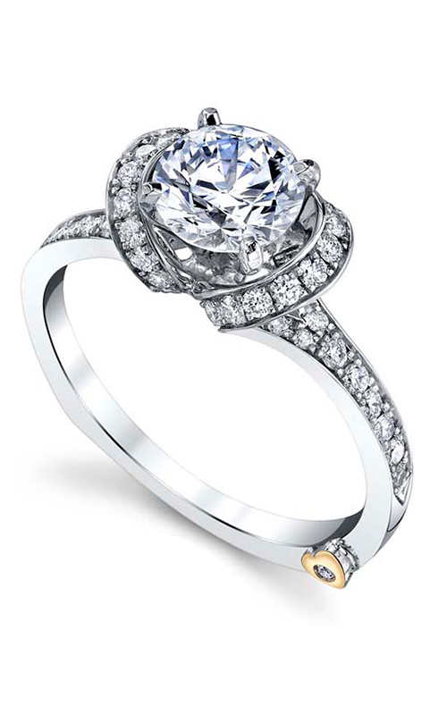 Mark Schneider Contemporary Engagement ring Yearn 17670 product image