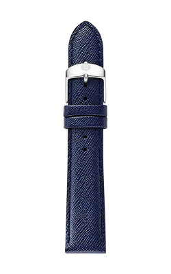 Michele 18mm Navy Blue Saffiano Strap MS18AA060400 product image