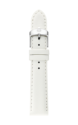Michele 16mm White Saffiano Strap MS16AA060151 product image