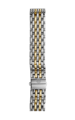 Michele 16mm Deco Mid 7-Link Two-Tone Bracelet MS16DM285048 product image