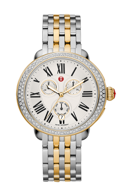 Michele Serein Diamond Two-Tone Gold, Two-Tone Bracelet Watch product image