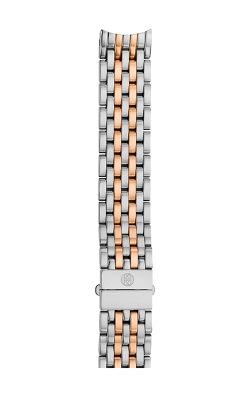 Michele 16mm Serein Mid 7-Link Two-Tone Rose Gold Bracelet MS16DH315750 product image