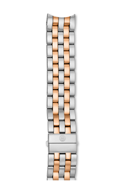 Michele 18MM Sport Sail 7-Link Two-Tone Rose Gold Bracelet product image