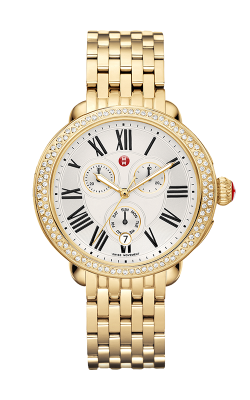 Michele Serein Diamond Gold Watch product image