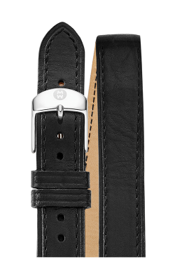 Michele 16MM Black Double Wrap Strap MS16BX270004 product image