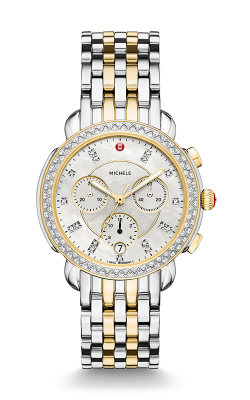 Michele Sidney Diamond Two-Tone, Diamond Dial Watch MW30A01C5046 MS18GA285048 product image