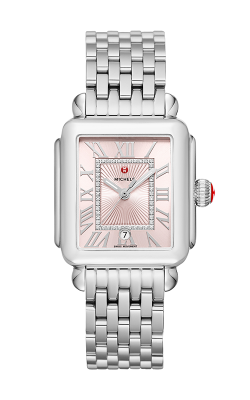 Michele Deco Madison Stainless-Steel Blush Diamond Dial Watch MW06T00A0115_MS18AU235009 product image